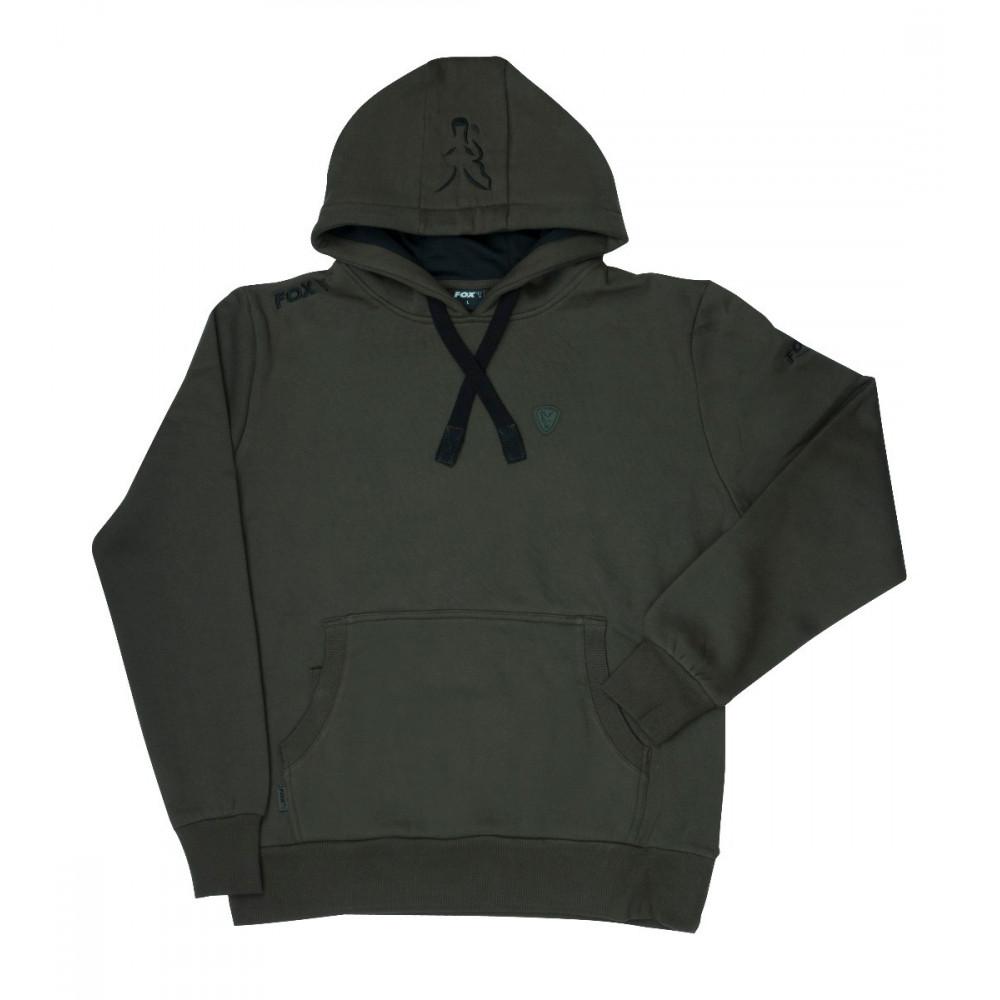 Hoodie Green Black Fox 2