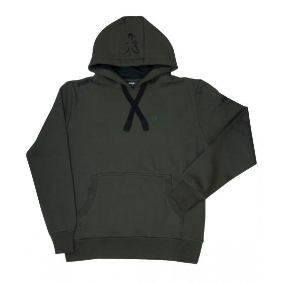 Groen zwarte vos hoodie 2