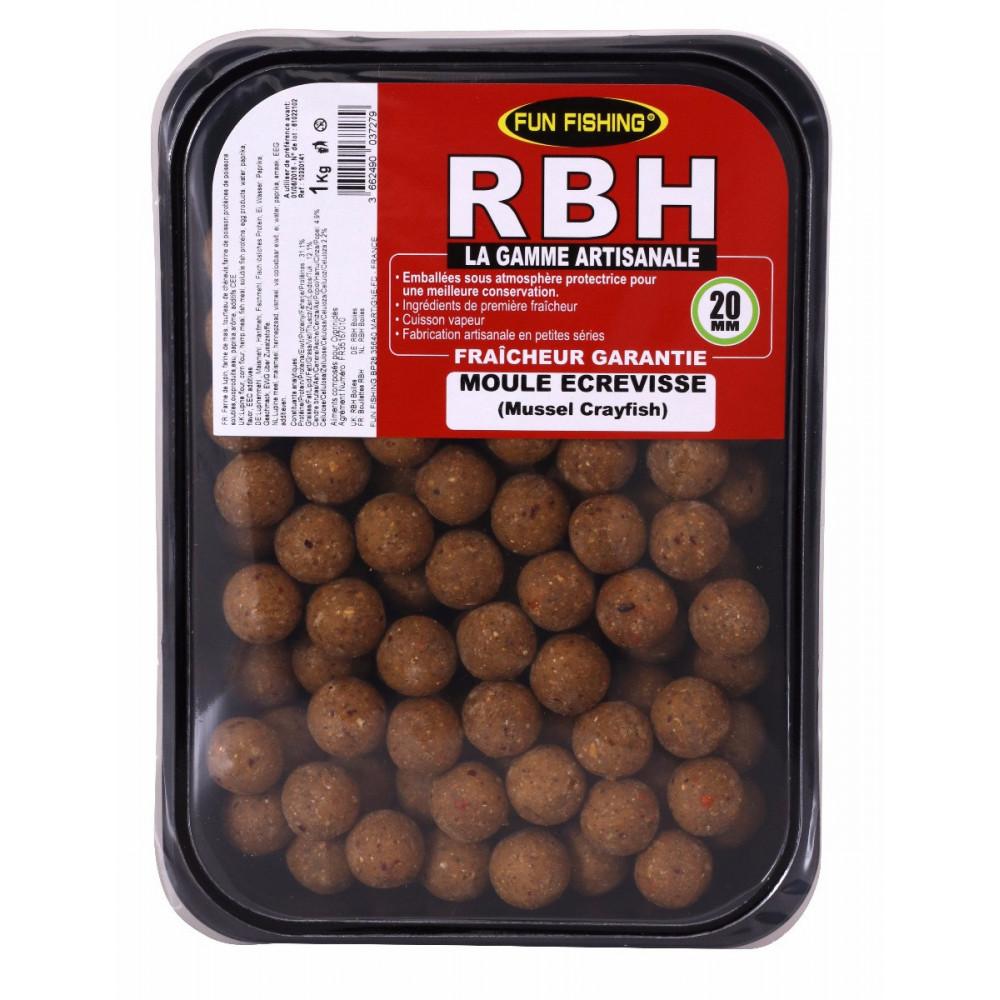 Rbh Boilies 1kg moule ecrevisse 1