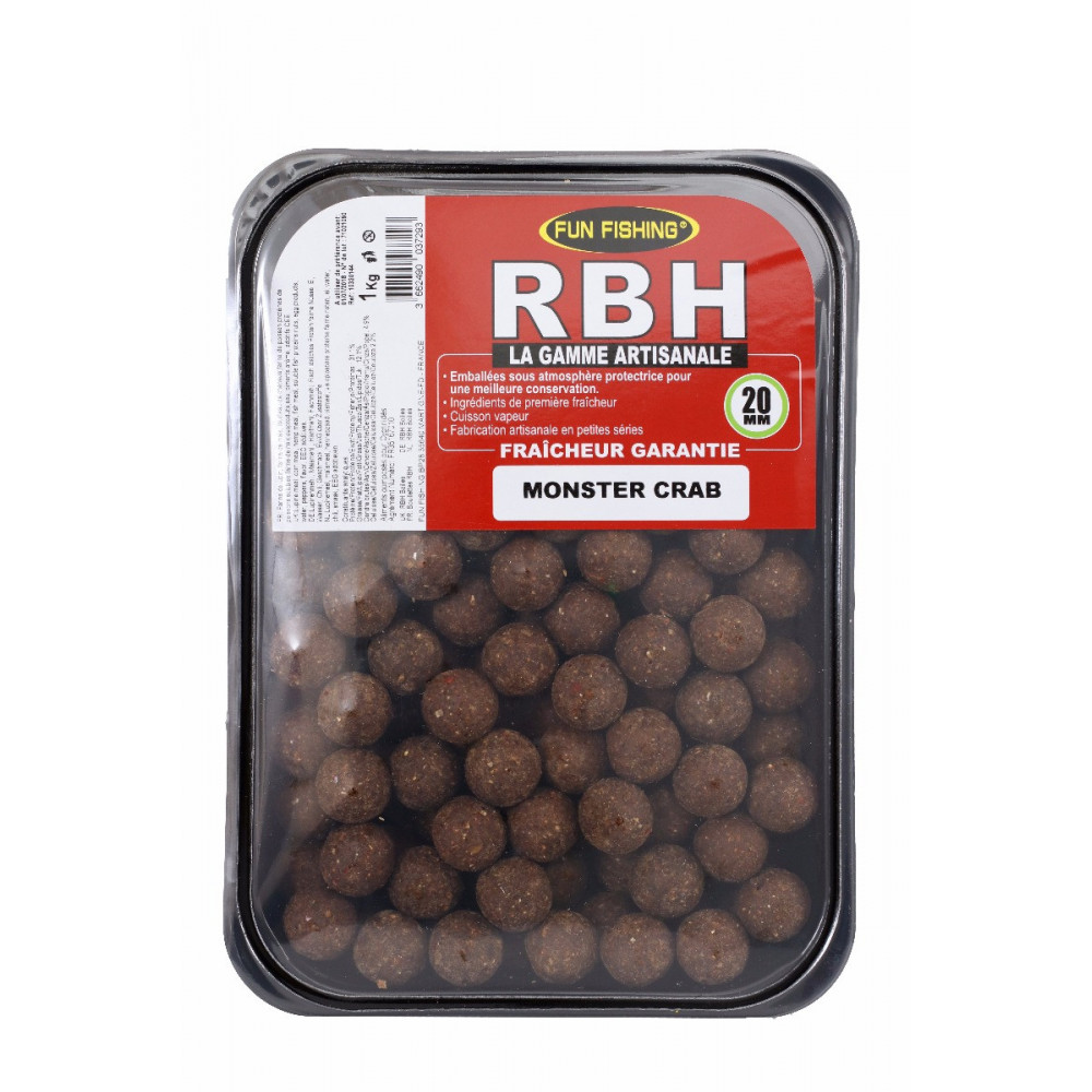 Rbh Boilies 1kg Monster crab 2