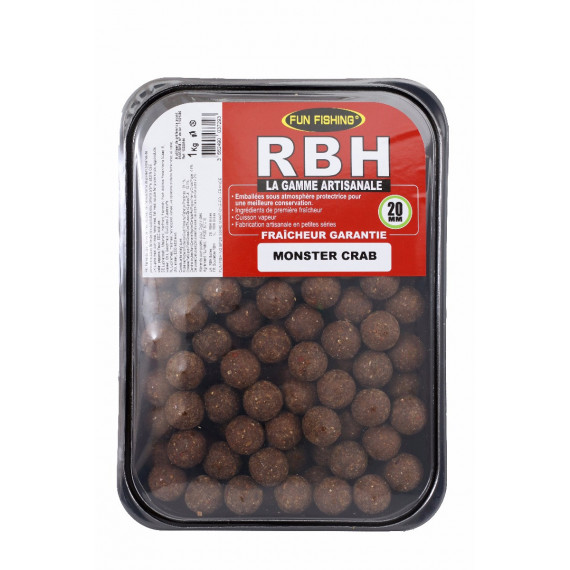 Rbh Boilies 1kg Monster crab