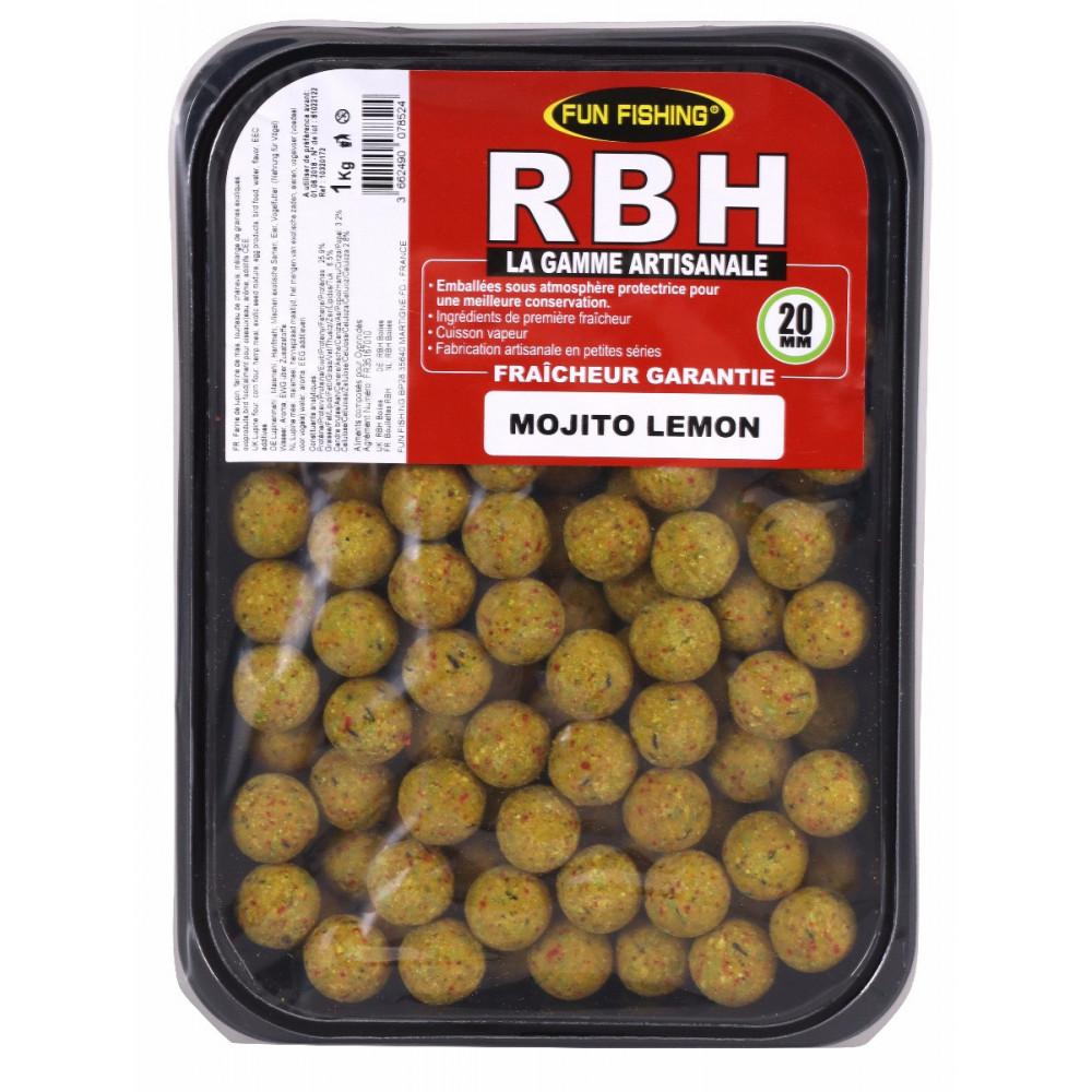Rbh Boilies 1kg mojito lemon 2