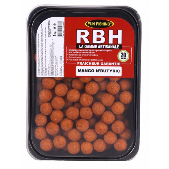 Rbh Boilies 1kg Mango n'butyric