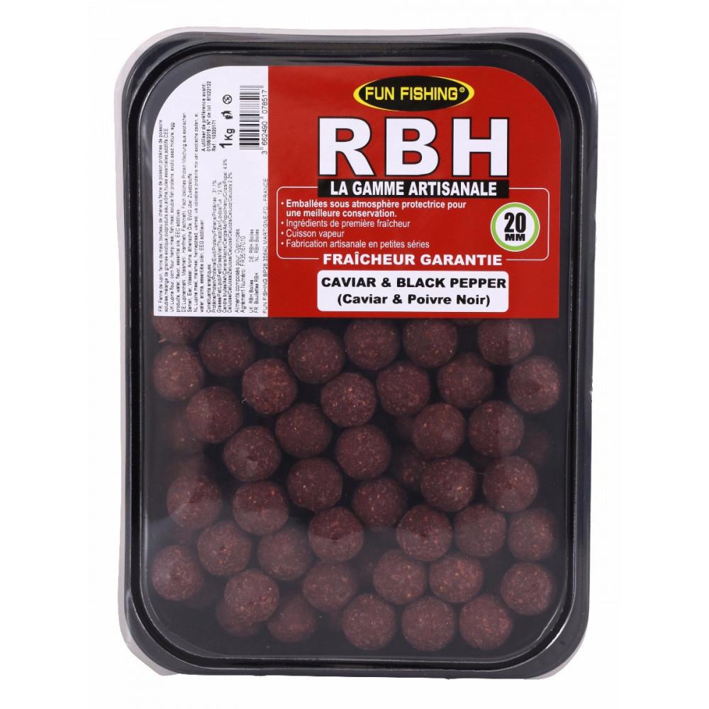 Rbh Boilies 1kg Caviar & Black pepper 1