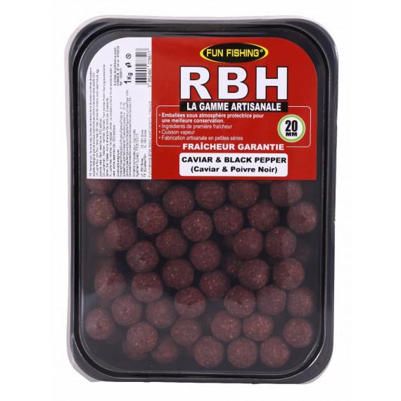 Rbh Boilies 1kg Caviar & Black pepper