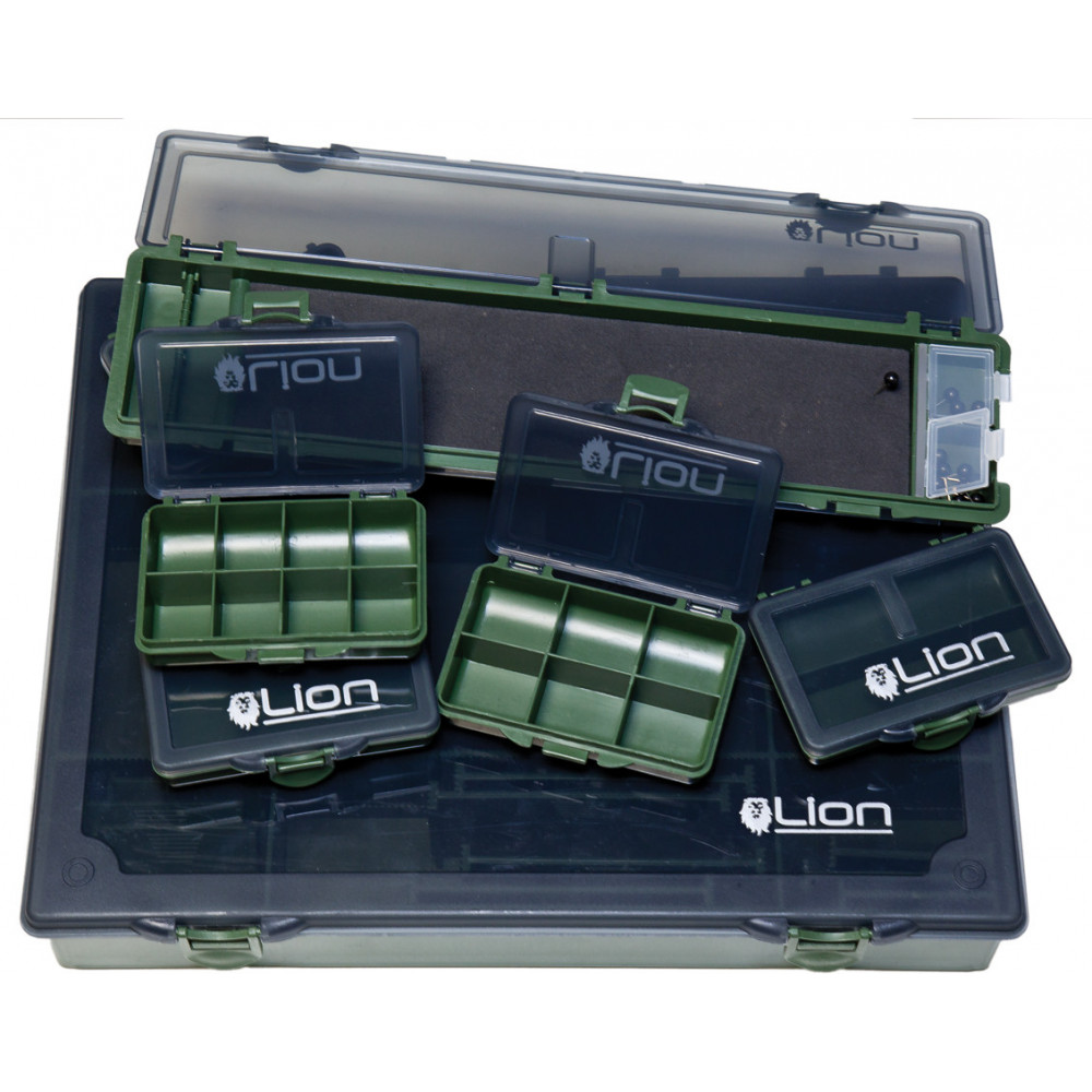 Grote complete Tackle Box Advanced leeuw 1