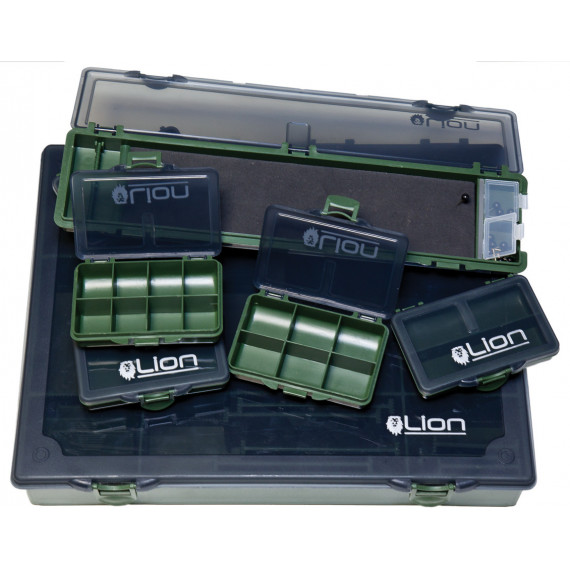 Grote complete Tackle Box Advanced leeuw