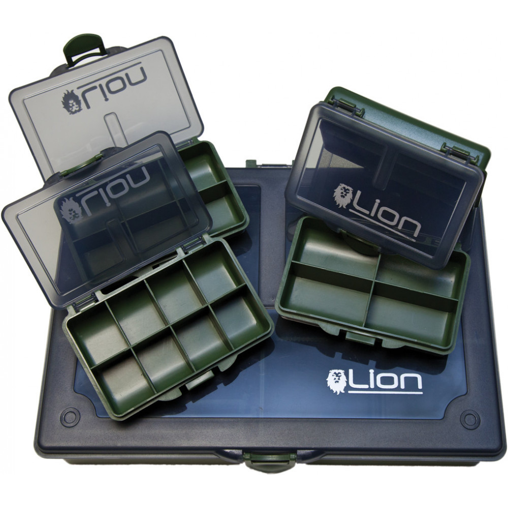 Medium complete Tackle Box Advanced leeuw 1
