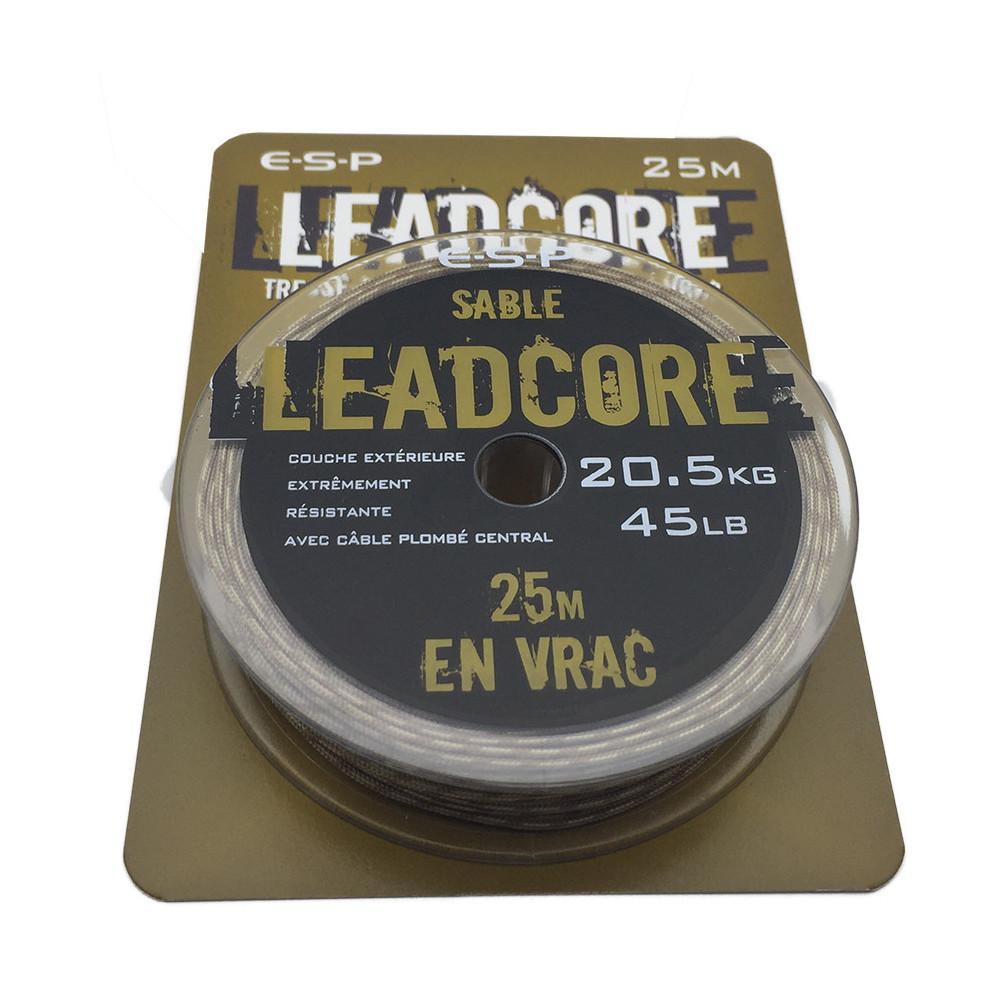 Esp Leadcore 45lb 25m. originele Camo ellc045b / 2 Esp 1
