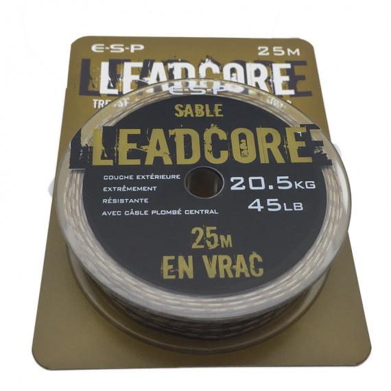 Esp Leadcore 45lb 25m. sandy Gravel Esp