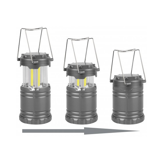 Intrekbare lantaarn met waterdichte leds 2