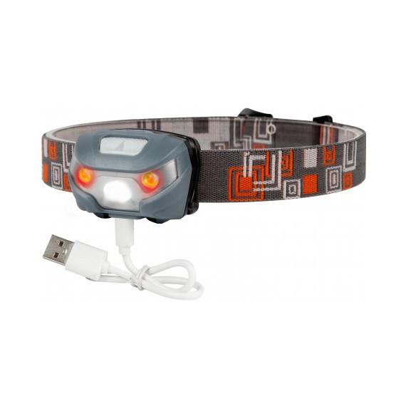 USB rechargeable Cobra headlamp 1