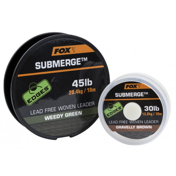 Submerge Lead Free Leader Green 30lb Fox