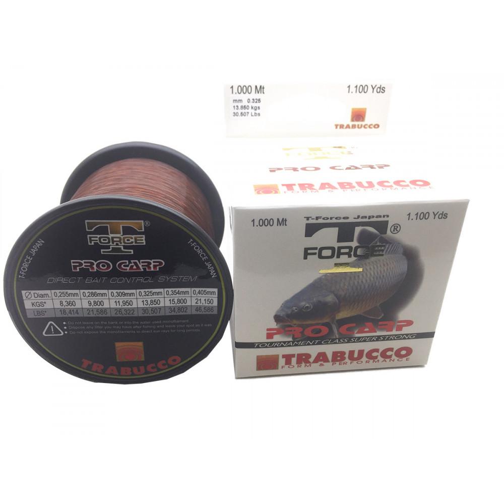 Nylon carpe t-force Pro carpe 1000m Trabucco 1