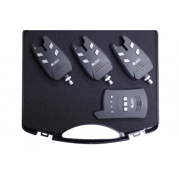 Koffer Acis Bite 3 detectoren + centrale leeuw 1