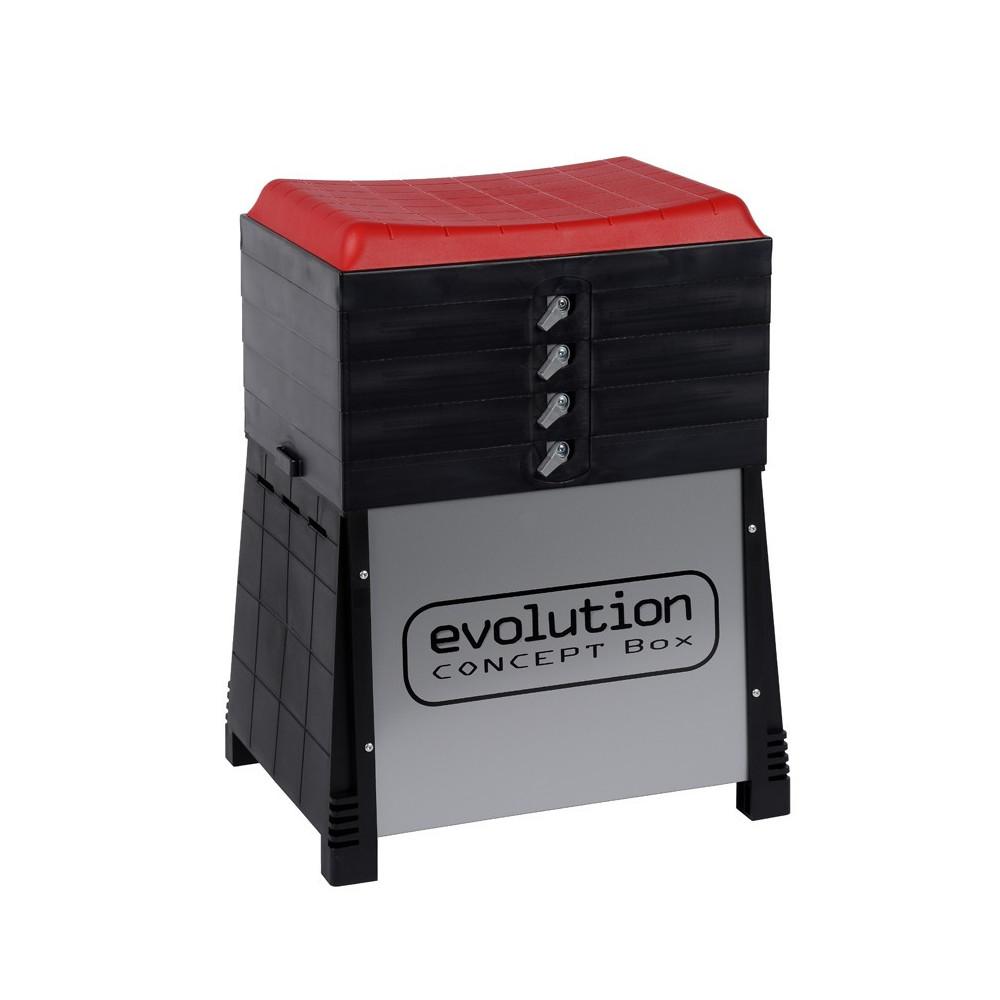 Evolution Classic basket 3 Fix2 compartments 1