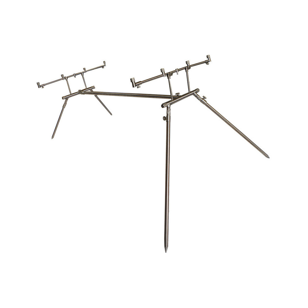 Rod Pod 4 Euro stainless Dk tackle rods 7