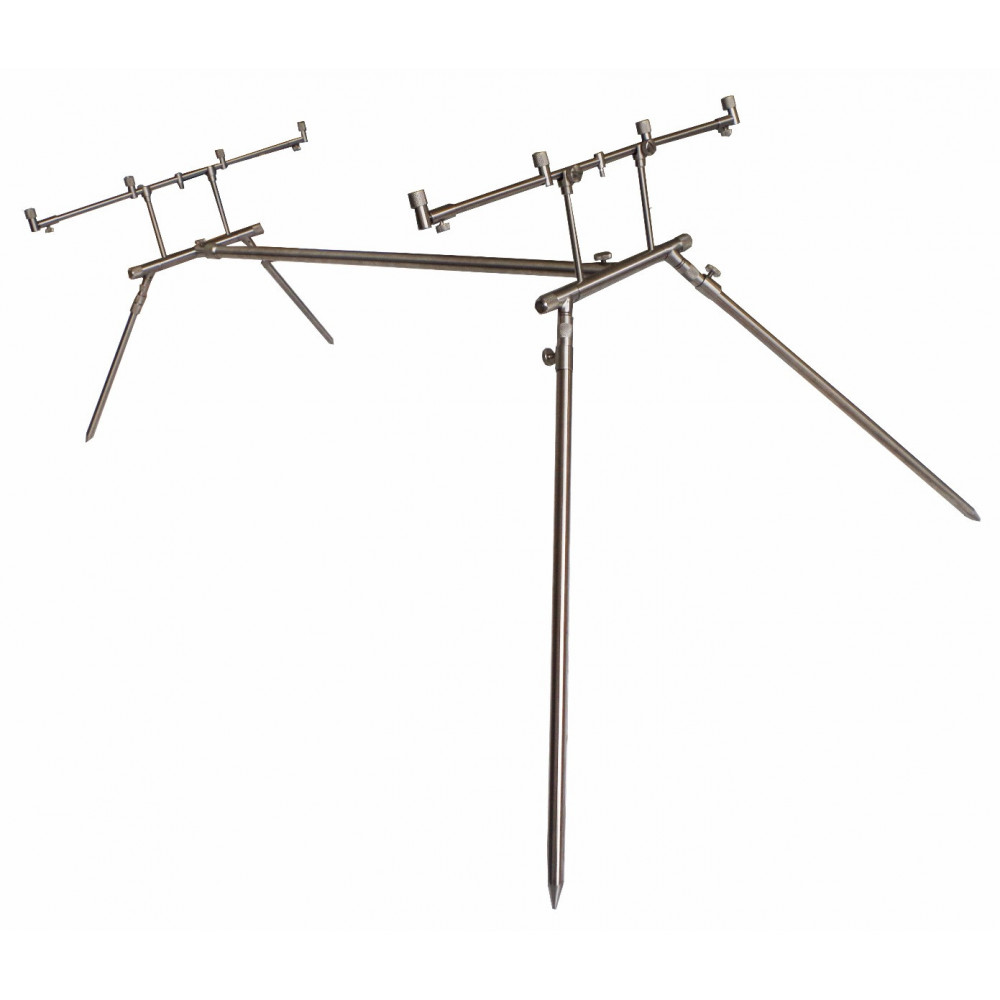 Rod Pod 4 Euro stainless Dk tackle rods 1
