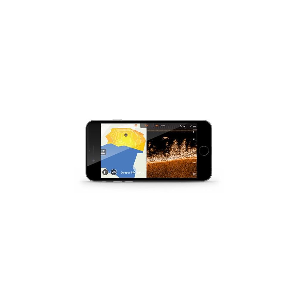 Echosondeur pro+ wifi - gps Deeper 1