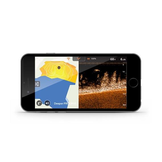 Pro + wifi-echolood - diepere gps 1