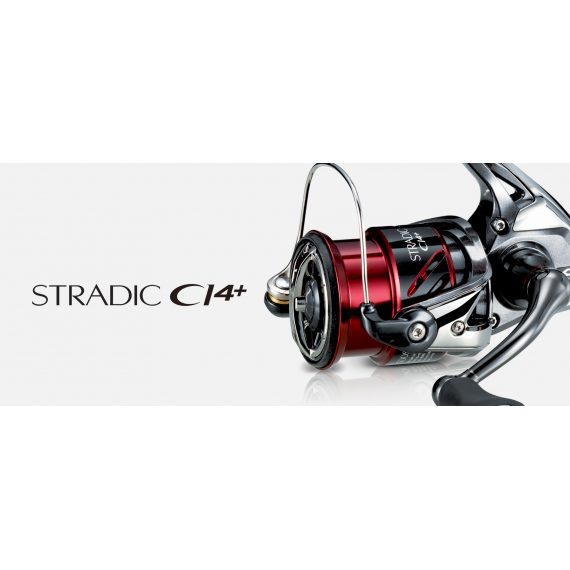 Moulinet Stradic ci4+ 4000 fb Shimano 1