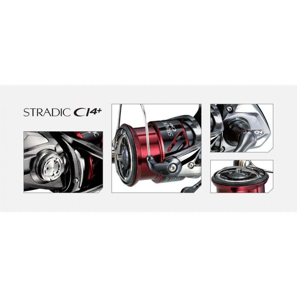 Moulinet Stradic ci4+ 4000 fb Shimano 2