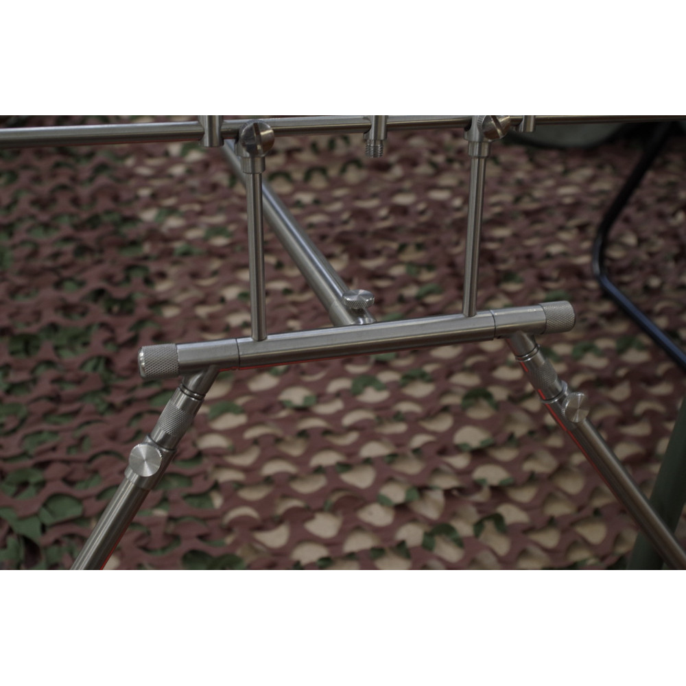 Rod Pod 4 cannes Euro stainless Dk tackle 2