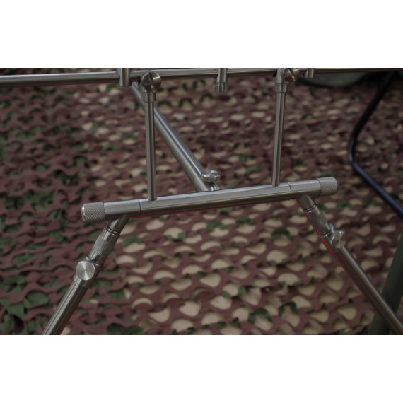 Rod Pod 4 Euro stainless Dk tackle rods 2