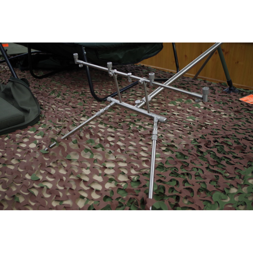 Rod Pod 4 Euro stainless Dk tackle rods 5