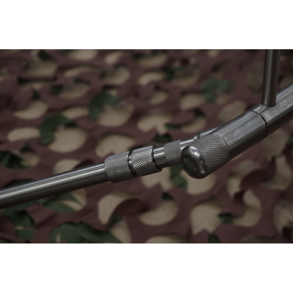 Rod Pod 4 cannes Euro stainless Dk tackle 6