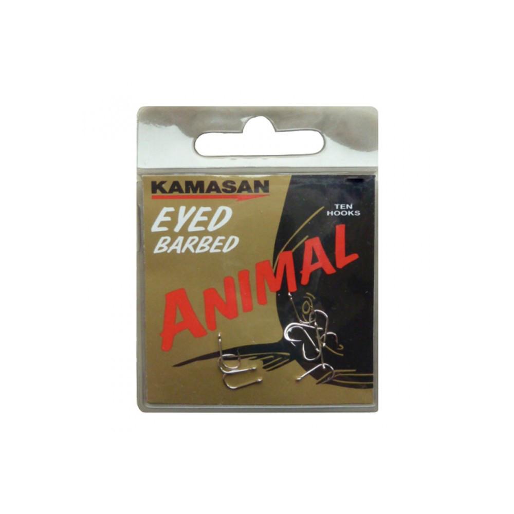 Ongemonteerde Hamecons Animal Eyed Kamasan 1