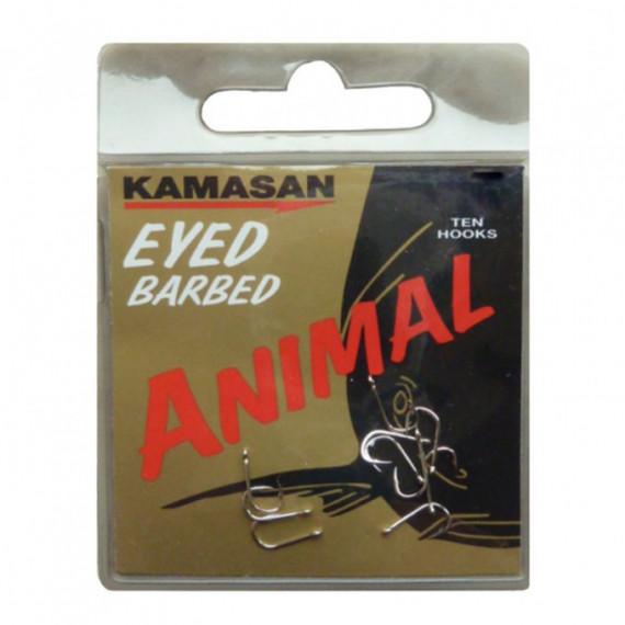 Ongemonteerde Hamecons Animal Eyed Kamasan