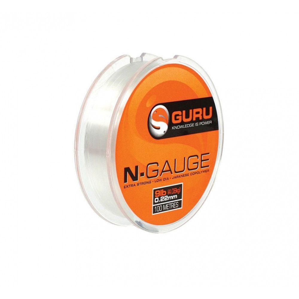Nylon n-gauge 5lb 100m Guru 1