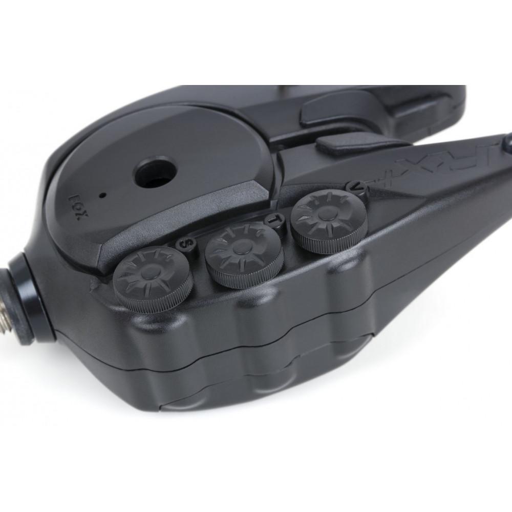 Koffer 3 detectoren + centrale Fox rx + 1