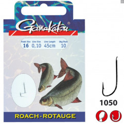 HameÇons montes bks-1050n Roach 45cm Gamakatsu