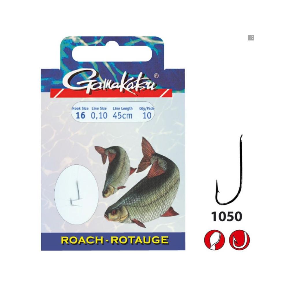 HameÇons montes bks-1050n Roach 45cm Gamakatsu 1