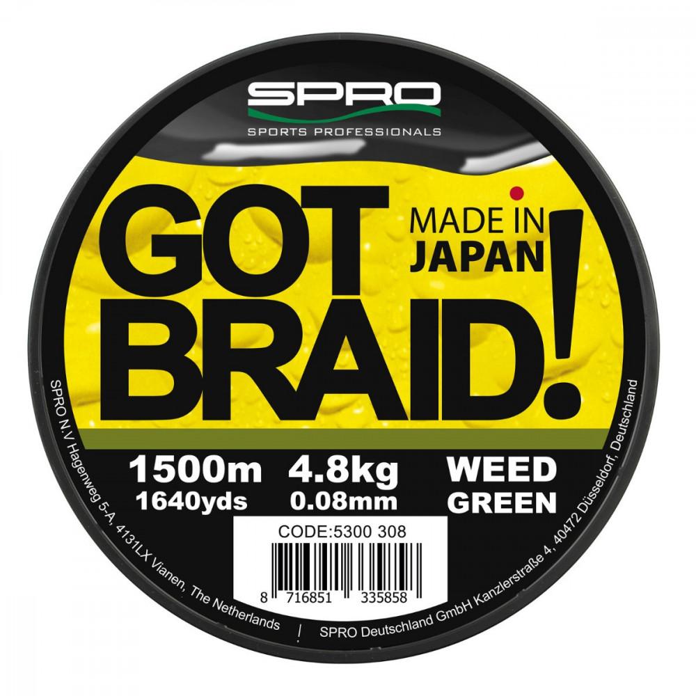 Tresse Got Braid Green 150m Spro 2