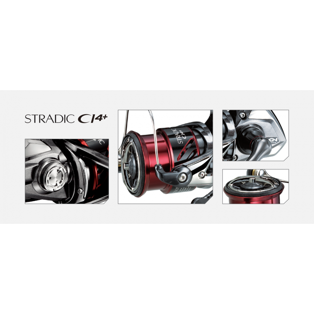 Moulinet Stradic ci4+ 2500 fb Shimano 2