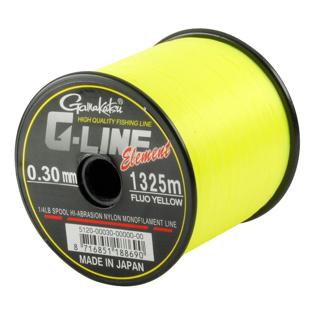 Nylon G-line Element Fluo Yellow Gamakatsu 1