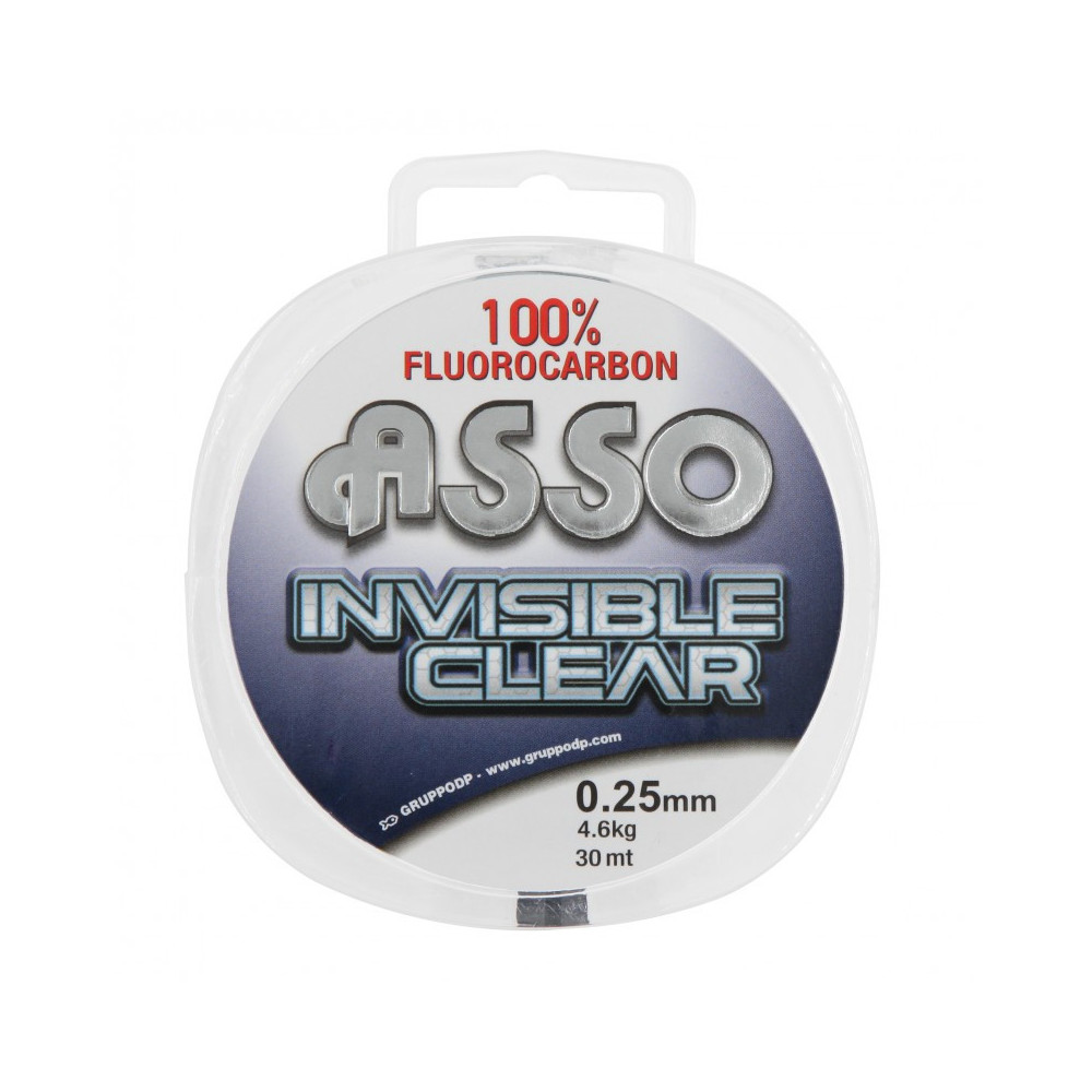 """Fluoro """"invisible clear"""" 30m Asso 1"""
