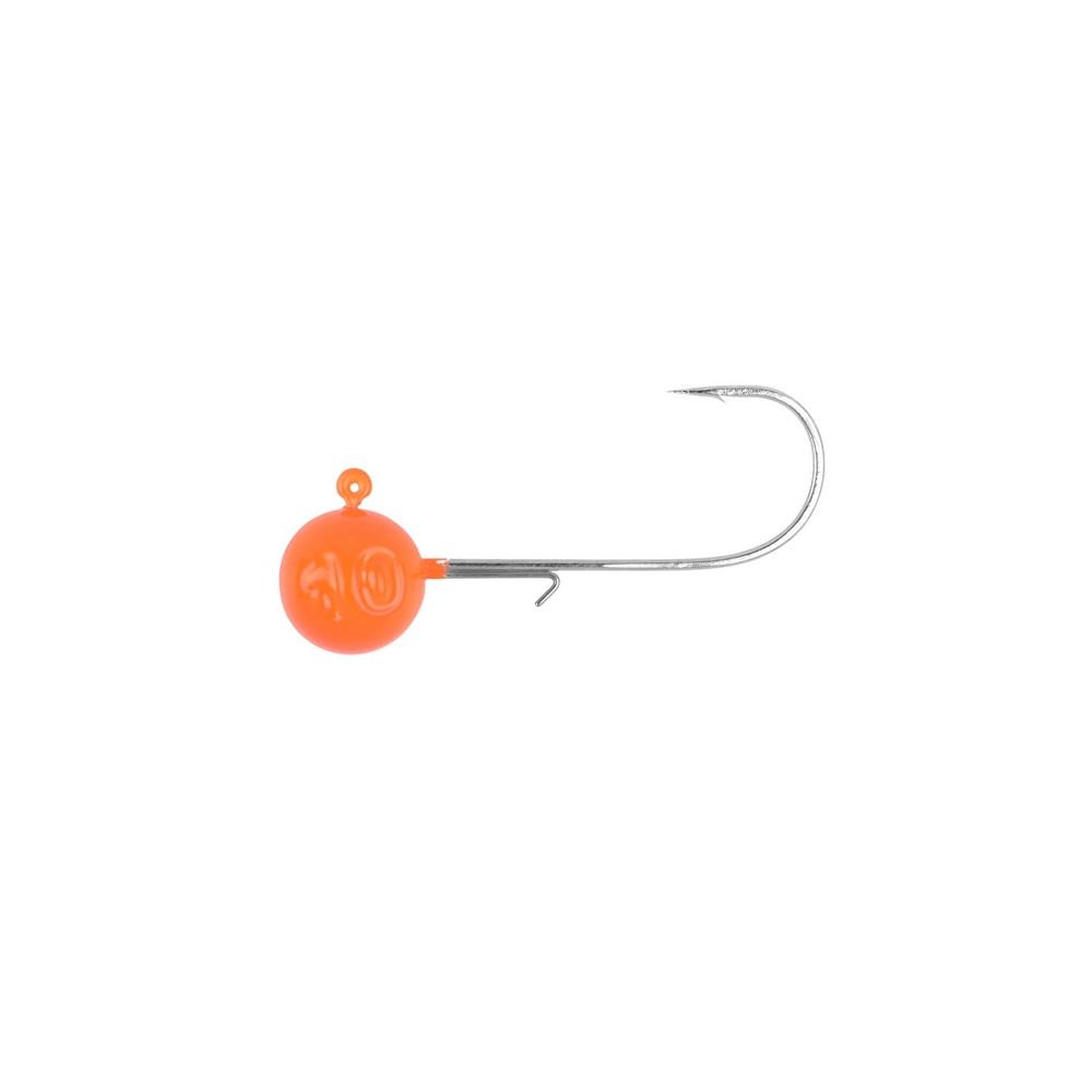 Ronde jigkoppen van Orange Spro 1